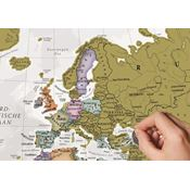 Kraskaart Wereldkaart Nederlands