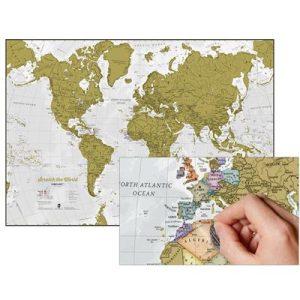 Engelse wereldkraskaart