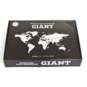 verpakking wereldkaart