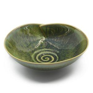 serveerschaal groen