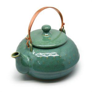 Japanse theepot groen