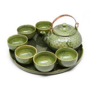 Japanse theeset groen
