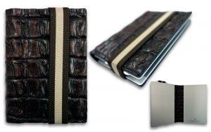 Q7 wallet bruin leer