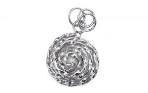 Zilveren Bedeltje Rosa