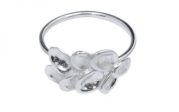 Zilveren ring Kate