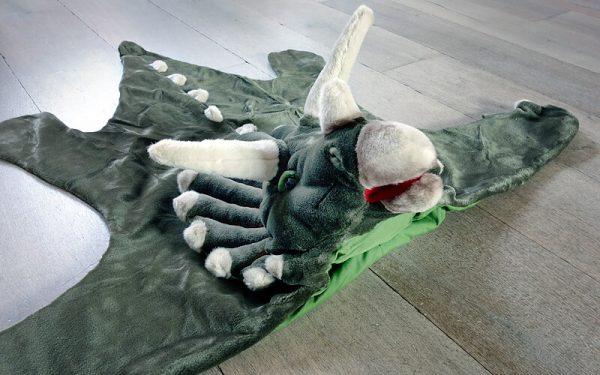 Dinosaurus Verkleed pak / Vloerkleed Wild & Soft