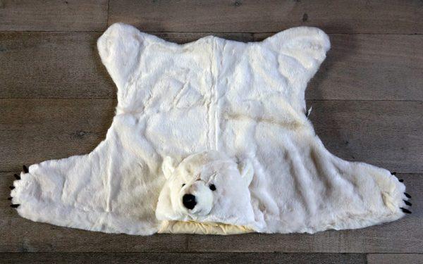 IJsbeer Verkleed pak / Vloerkleed Wild & Soft