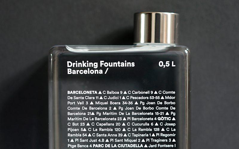 Waterfles Barcelona