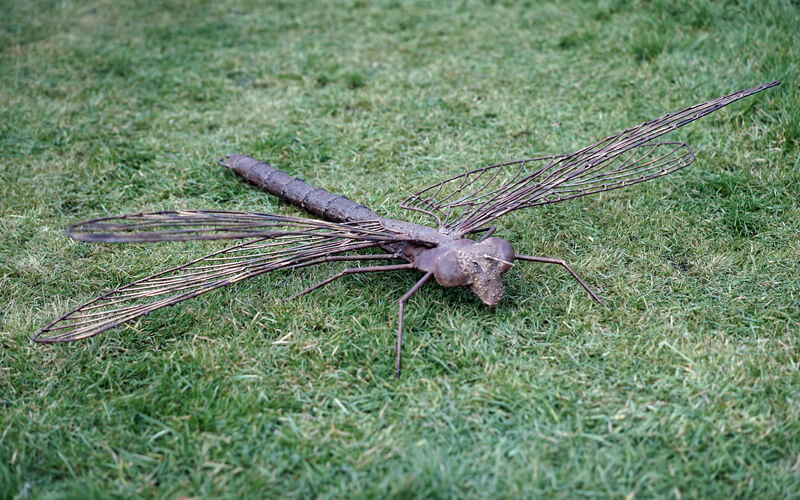 Metal Art Tuindecoratie Grote Libelle