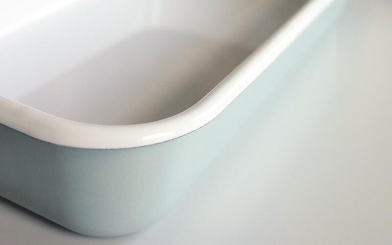 Geëmailleerde Ovenschaal Groen/Orion