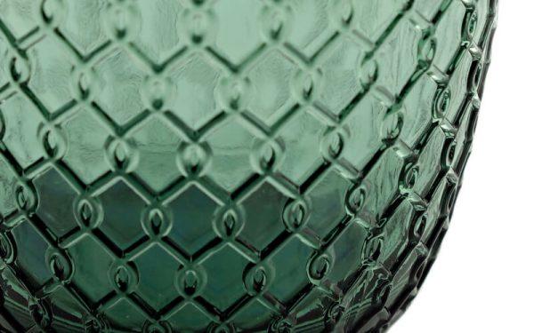 Luxe Waterglazen 'Sixties' Pauwgroen