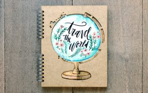 Notebook 'Travel the World'