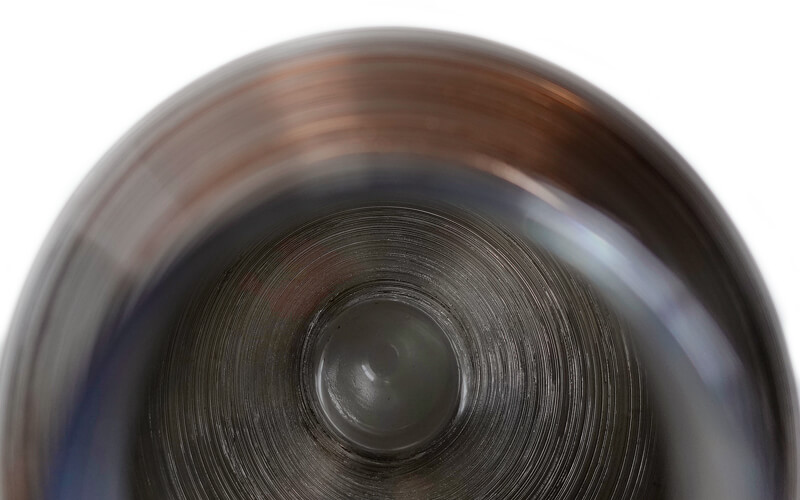 Glazen Bloemenvaas Bruin Bombay