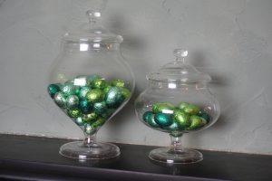 Bonbonschaal helder glas IVV