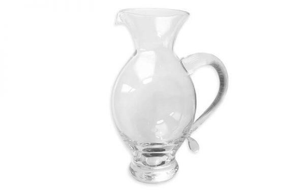 Waterkaraf glas Mondgeblazen IVV