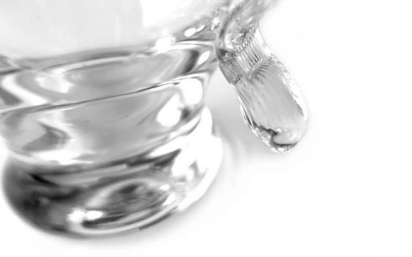 Water karaf glas IVV
